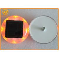 Wholesale Anti - UV Reflective Road Studs PC Solar Flashing Road Stud 1500mAh Li-On Battery from china suppliers