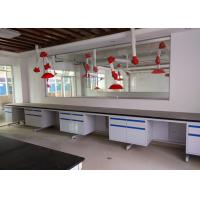 Buy cheap Costomized Anti Strongest Corrosion / Acid / Alkali Blue / White All Steel Lab Bench Furniture Manufaturer from wholesalers