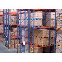 Wholesale Logistic equipment heavy duty storage double deep pallet racks from china suppliers