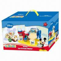 Buy cheap Ice Cream Maker, Disney Mickey Image, No Electricity Needed, Intelligent Toy, Meets EN 71 Standard  from wholesalers