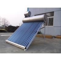 Wholesale Gravity 180L Non Pressurized Solar Water Heater With Magnetron Sputtering Selective Coating from china suppliers