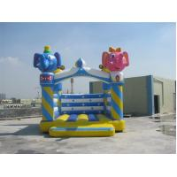 Wholesale Waterproof Colorful Giant Inflatable Bounce Houses Fire Retardant from china suppliers
