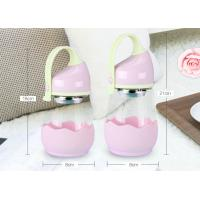 Quality Cute PP Lid Baby Milk Bottle Glass , Pink Feeding Bottles For Babies LW-D043 for sale