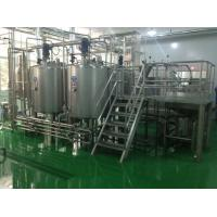 Wholesale Wiped Film Forced Circulation Double Effect Evaporator For Fruit Jam Concentration from china suppliers