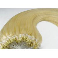Wholesale Hot Selling 100 Remy Human Micro Ring Indian Remy Hair Extensions For Women from china suppliers