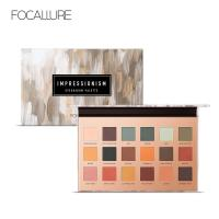 China Focallure New High Pigment 18 Colors Diamond Pressed Eyeshadow Palette Make Up Cosmetic on sale