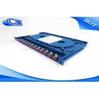 Wholesale 300 * 180 * 25mm Optical Fiber Patch Panel Rack Mount ODF For Indoor / Outdoor from china suppliers