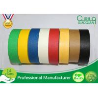 Wholesale Heat Resistance No Residue Colored Masking Tape For Wall / Car Painting from china suppliers