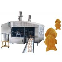 Quality Wafer Making Fully Automated Production Line With Batter Tank Pump System for sale
