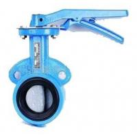 Wholesale Low Noise Water Butterfly Valves Chain Wheel Turbine Type EPDM Seated from china suppliers