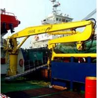 Wholesale 30 to 300kn. M Knuckle Boom Marine Crane from china suppliers
