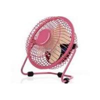 Wholesale Fashionable simple pink plastic Portable cooler USB mini laptop table fan from china suppliers