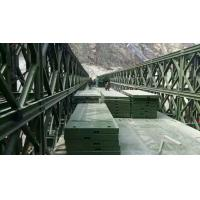 Wholesale Assembling Type Temporary Emergency Bridge , Q345B Steel Temporary Road Bridge from china suppliers