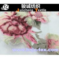 Wholesale Nylon fabric polyester blend fabric flower pattern fabric for hometextile curtain fabric from china suppliers