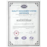 ShanTou GCS Food Machiney Co,Ltd Certifications