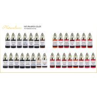 Wholesale Organic Naturalness Liquid Pigment Ink Permanent Makeup Pigmentation 34 Colors from china suppliers