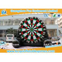 Buy cheap Velcro Giant Inflatable Football Game Single Dart Board Soccer Football Dart from wholesalers