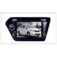Wholesale KIA Two DIN 8'' Car DVD Player with gps/TV/BT/RDS/IR/AUX/IPOD special for K2/RIO from china suppliers