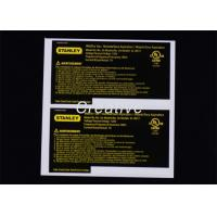 Buy cheap White Vinyl Custom Sticker Labels , Personalized Vinyl Decal Stickers from wholesalers