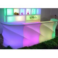 Wholesale Nightclub Illuminated Bar Counter Glowing Illuminated Led Light Table Bar Counter Design from china suppliers