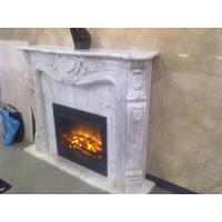 Wholesale White marble fireplace mantel from china suppliers