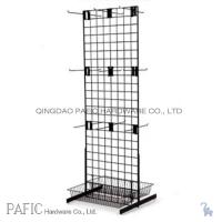 Wholesale Peg Hook Wire Mesh Hanging Display Racks With Spray Painted 10-60kgs from china suppliers