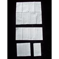 Wholesale Virgin Wood Pulp Dinner Napkins White Paper Tissue support 1/8 fold from china suppliers