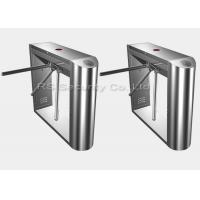 Buy cheap Stainless Steel Tripod Turnstile Gate Rfid Card Reader Turnstiles For Access Control from wholesalers