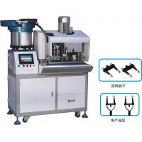 Wholesale Euro 2 pin Automatic plug strip and insert machine from china suppliers