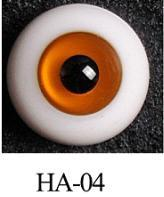 Wholesale Orange, Yellow Synthetic Glass Doll Eyes with 12mm / 12mm / 7mm from china suppliers