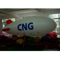 Wholesale 0.2m PVC Helium Airship Inflatable Advertising Balloons With 6m Long from china suppliers