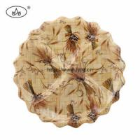 Wholesale China Plate for Bamboo/Dessert/Fruit/Food/Sanck/Nuts/Daily Use/Tableware/Table Decoration/ from china suppliers