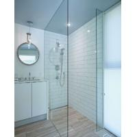 Wholesale 12MM clear flat tempered glass as shower room from china suppliers