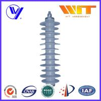Wholesale 33KV Gray Polymer Antenna Lightning Surge Arrester Electrical Equipment Protection from china suppliers