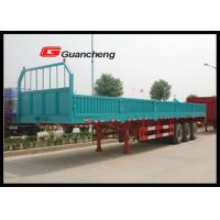Wholesale Fuwa support leg 3 axle Cargo Semi Trailer with 80 Ton loading capacity from china suppliers