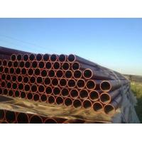 Wholesale W Type EN 598 Ductile Black Iron Pipe C151 / A21 , Large Diameter Ductile Steel Pipe from china suppliers