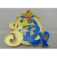 Wholesale 2D or 3D CY Carnival Medal by Zinc alloy with Soft Enamel, Gold Plating, Flat Back Side from china suppliers