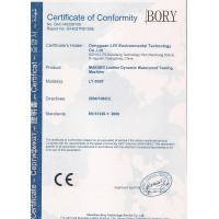 Dongguan Liyi Environmental Technology Co., Ltd. Certifications