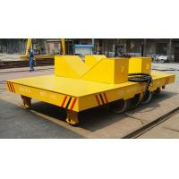 Wholesale Automatic welding carriage handling cargo rail cart with hydraulic system in plant from china suppliers