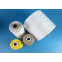 Quality 100% Spun Polyester TFO Yarn 50S/2 High Tenacity Yarn Raw White Well Evenness for sale