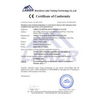 GREEN LIGHTING ELECTROICS CO.,LTD Certifications