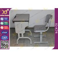 Wholesale Durable School Desk And Chair for Kids Study , Plywood Desk Top With PVC Edge from china suppliers