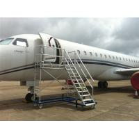 Wholesale Light Weight Aircraft Scaffolding for maintenance / Composite structure Wheel well ladder from china suppliers