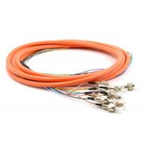 Wholesale 2.0 / 3.0mm Optical Fiber Pigtail Flexible SM MM OM4 OM3 FC 4 - 48 Core For WAN from china suppliers