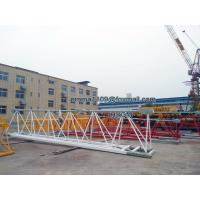 Buy cheap QTZ100 Flattop Tower Crane 198ft Boom Jib 6013 Model Competitive Offer from wholesalers
