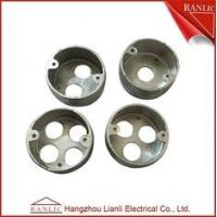 Buy cheap Malleable Circular Conduit Junction Box Loop In Box 1/2/3/4 Holes Thread from wholesalers