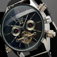 Wholesale 100g Silicone Mens Automatic Watch Silver Case With Tourbillion Cage from china suppliers