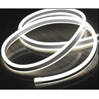 Wholesale high quality 110V double side white led neon flexible strip for buildings from china suppliers