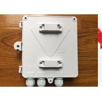 Outdoor 8 cores fiber terminal box for wall mount and pole mount