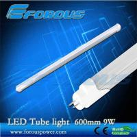 Wholesale 600mm 9w t8 led tube light with energy saving UL TUV interior lighting/LED tube light from china suppliers